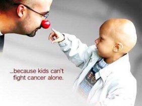 Вместе поможем детям болеющих раком