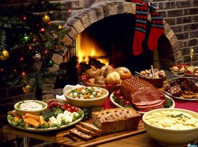 Christmas gives a rich meal for needy families in Moldova!