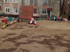 Împreună pentru construcția terenului de joacă la grădinița Nr.85 Chișinău