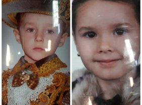 Children left without a mother: Eugen and Madalina Tulbure