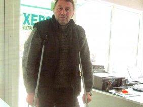 Help the disabled Mr. Alexei Marii