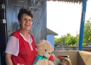 Din inimă pentru bunica Galina