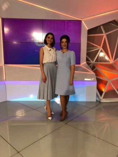 Svetlana Sainsus invitata emisiunii Vorbe bune cu Lilu