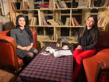 """Svetlana Sainsus invitata la Televiziunea Centrala, emisiunea """"Eroul timpurilor noastre"""""""
