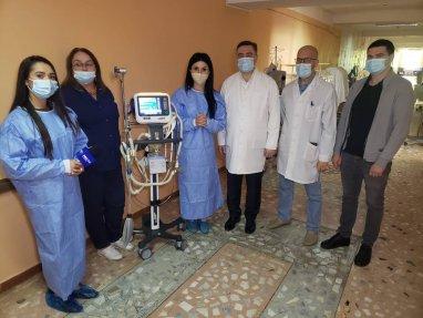 Zilele acestea a ajuns ventilatorul pulmonar la terapia intensiva de la Institutul Mamei si a Copilului.