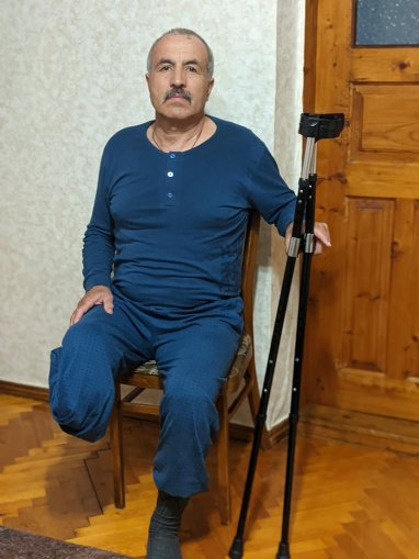 Михаил Кердиварэ на днях получил протез благодаря людям, которые решили быть с ним рядом!